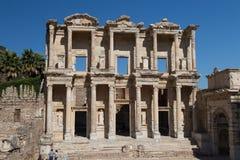 Celsus图书馆在Ephesus 免版税库存图片