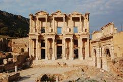 celsus图书馆 免版税图库摄影