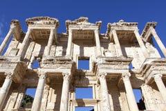 Celsus图书馆 免版税库存图片