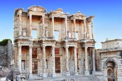 Celsus-Bibliothek Lizenzfreie Stockbilder