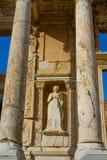 Celsus-Bibliothek in der alten antiken Stadt von Efes, Ephesus-Ruinen Stockbild