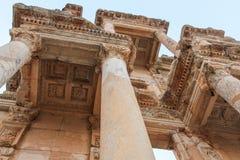 Celsus Bibliothek in Ephesus, die Türkei Stockfoto