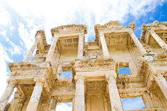 The Celsus library Stock Images