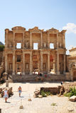 Celsus Library at Ephesus Stock Photo