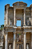 Celsus Library in Ephesus Stock Image