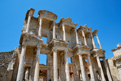 The Celsus Library in Ephesus Royalty Free Stock Image