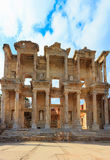 The Celsus Library of Ephesus Ancient City Royalty Free Stock Image