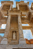 The Celsus Library of Ephesus Ancient City Stock Photo