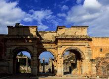 The Celsus Library of Ephesus Ancient City Stock Image