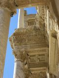 Celsus library in Ephesus Royalty Free Stock Photo