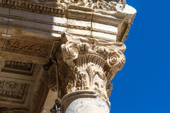 Celsus Library in Ephesus Royalty Free Stock Photos