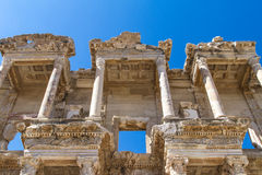 Celsus Library in Ephesus Stock Photography