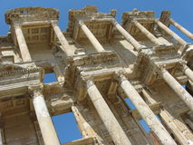 Celsus Library in Ephesus, Turkey Stock Photography