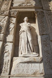 Celsus Library in Ephesus, Turkey Royalty Free Stock Images