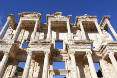 Celsus Library Royalty Free Stock Image