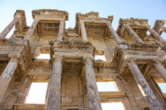 Celsus Library Royalty Free Stock Photos