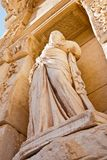 Celsus library statue in Ephesus Royalty Free Stock Photography