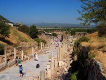 The Celsus Library, Turkey stock photos