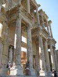 Celsusbibliotheek in Ephesus Royalty-vrije Stock Fotografie