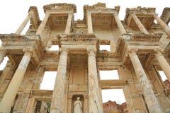Celsusbibliotheek in Ephesus royalty-vrije stock foto's