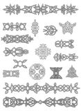 Celtów zdobienia i ornamenty Fotografia Stock