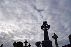 celta na cmentarz Zdjęcie Stock