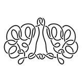 celta ornament Obraz Stock