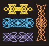 celtic конструирует ornamental Стоковые Изображения RF
