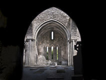 Celtic ancient church. An ancient church in ireland Royalty Free Stock Images
