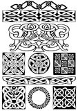 Celtic art-collection. Stock Images
