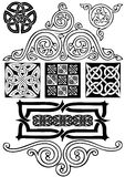 Celtic art-collection. Royalty Free Stock Photos