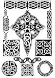 Celtic art-collection. Stock Photo
