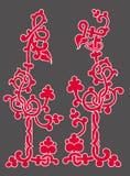 celtic blommaprydnad Royaltyfri Foto