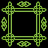 Celtic border frame Stock Images
