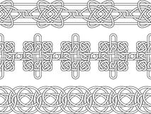 Celtic border pattern Stock Photos