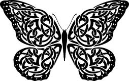 Celtic Butterfly Stock Images