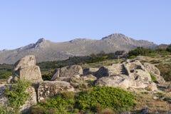 Celtic Castro of Ulaca. Avila, Spain. Royalty Free Stock Image