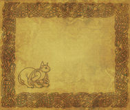 The Celtic Cat Stock Image