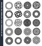 Celtic Circles And Rings For Tattoo Design Stock Photography