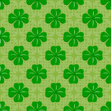 Celtic clover pattern Stock Images