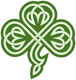 Celtic clover Royalty Free Stock Photography