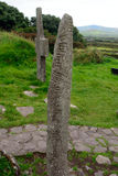 Celtic column, Kilkalmedar, Ireland Stock Photos