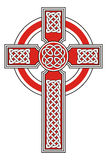 Celtic cross. With detailed ornaments Stock Photos