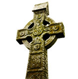 Celtic Cross. A wonderful example of a Celtic Cross from the Rock of Cashel, Ireland stock photography