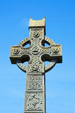 Celtic cross. Old celtic cross in Ireland royalty free stock images