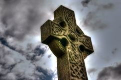 Celtic cross B Stock Photo