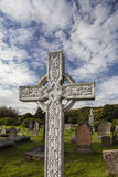 Celtic Cross at the Gaelic Chapel in Cromarty, Scotland Stock Images
