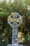 Celtic Cross in Gunwalloe Royalty Free Stock Photography