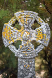 Celtic Cross in Gunwalloe Stock Photos