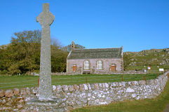 Celtic Cross, Iona Royalty Free Stock Photo